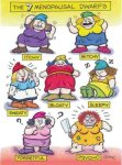 7 dwarves of menopause